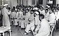 Jawaharlal Nehru addressing the Indian community in Bali,1950.jpg