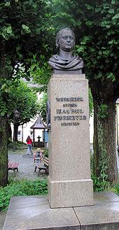 Jean-Paul-Denkmal in Wunsiedel (Quelle: Wikimedia)