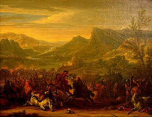 Battle of Calcinato - The Battle of Calcinato by Jean-Baptiste Martin.