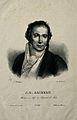 Jean Louis Alibert. Lithograph by H. Garnier. Wellcome V0000127.jpg