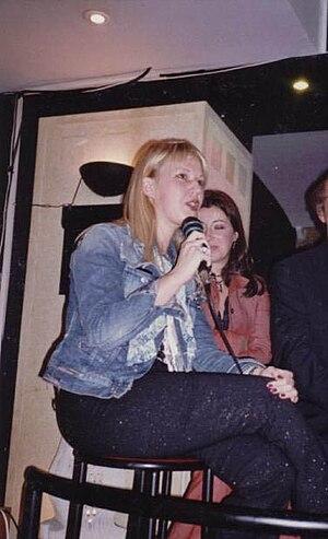 "Jelena Đurović - Jelena Đurović talking about her novel ""Kingdom"", Belgrade, November 2004."