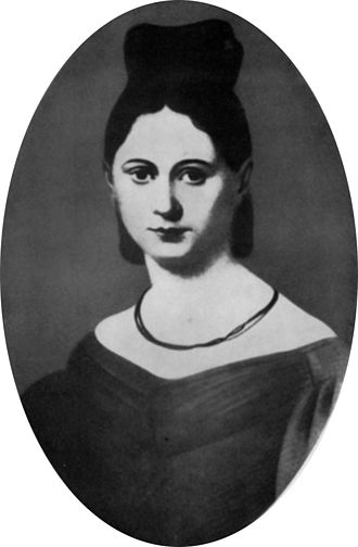 Karl Marx - Jenny von Westphalen in the 1830s