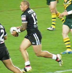 Jeremy Smith (rugby league, born 1980) - Smith playing for the New Zealand at the 2008 RLWC