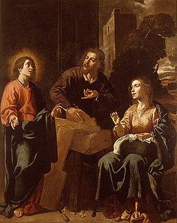 Jeroni Jacint Espinosa, Sagrada Família a la fusteria 1660