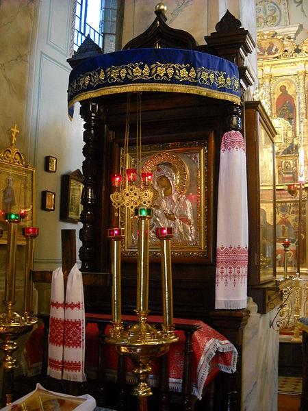 File:Jerozolimska Ikona Matki Bożej sobór Lublin.jpg