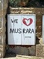 Jerusalem graffiti we love Musrara.jpg