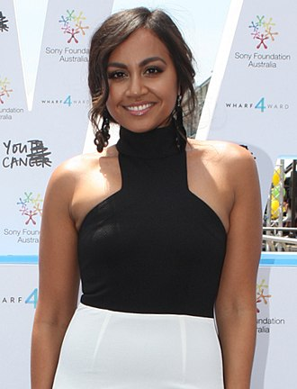 """ARIA Award for Best Female Artist - Jessica Mauboy received the award for """"To the End of the Earth"""" (2013)."""
