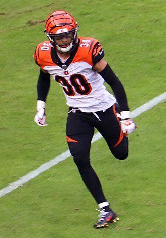 Jessie Bates III - Bates with the Cincinnati Bengals in 2018