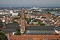 Jesuitenkirche seen from the castle - Heidelberg - Germany 2017.jpg