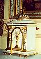 Jesus Christ in chalice Bukova Horka, Slovakia 18 century.jpg