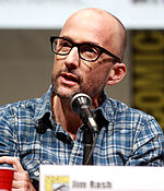 Photo of Jim Rash at the San Diego Comic-Con in 2013.