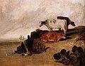 Jmw turner, scena fluviale con bestiame, 1808 ca. 03.jpg