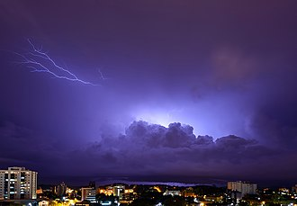 Joinville - A storm over Joinville