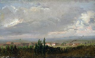 View of an Approaching Thunderstorm