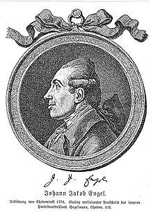 Johann Jakob Engel, Porträt von Daniel Chodowiecki (Quelle: Wikimedia)