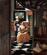 the love letter vermeer jennard galleries best galleries in bangalore 25206