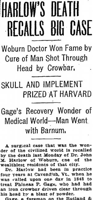 John Martyn Harlow - Boston Herald, May 20, 1907