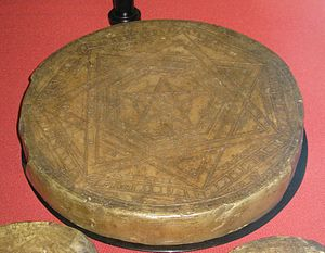 "Pentacle - John Dee's ""Seal of God's Truth"" (Sigillum Dei Æmeth). British Museum."