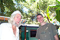 John Drew Barrymore and Grandson John Blyth Barrymore Jr July 2001 Los Angeles CA.jpg
