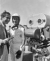 John Frankenheimer and Yves Montand 1966 Grand Prix.jpg