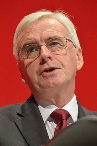 John McDonnell - Image: John Mc Donnell, 2016 Labour Party Conference