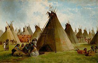 Prairie Indian Encampment