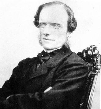 John Robert Godley - Portrait of John Robert Godley