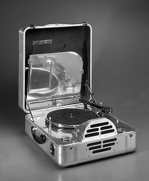 John Vassos - RCA Victor Special Model K, Portable Electric Phonograph Brooklyn Museum