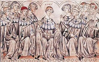 John of Bohemia - John's wedding to Elisabeth of Bohemia at Speyer