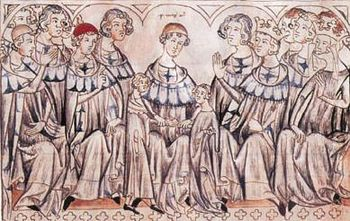 The marriage of Johann and Elisabeth