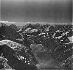 Johns Hopkins Glacier, tidewater glacier and hanging glaciers, August 31, 1977 (GLACIERS 5516).jpg