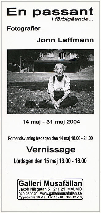 Vernissage - Invitation card to a Vernissage.