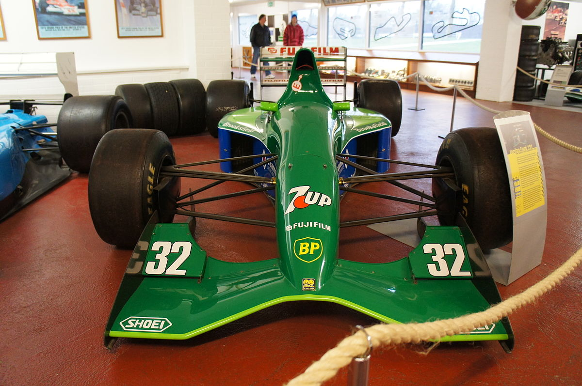 Race Car For Sale >> Jordan 191 - Wikipedia