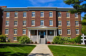 Joseph John Gerry - Joseph Hall, on the campus of Saint Anselm College is named after Bishop Gerry