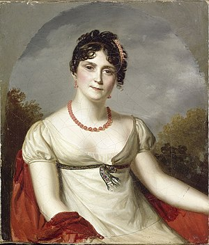 Portrait of the Empress Josephine