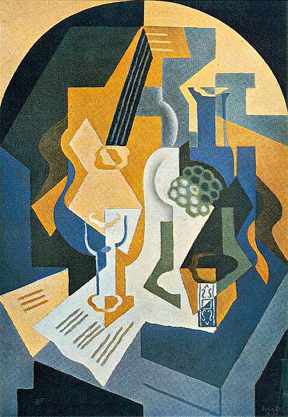 Mrtva priroda sa činijom i mandolinom (1919)
