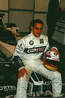 Juan Pablo Montoya earned the second pole position of his career after trading the fastest lap with his Williams teammate Ralf Schumacher in the final five minutes of qualifying.