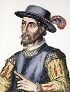 Ponce de León en un retrato anónimo del siglo XVI.