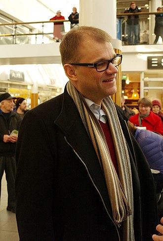 Juha Sipilä - Juha Sipilä in Vaasa, 2015