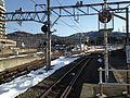 Junction of Shiojiri Station (Chuo Main Line & Shinonoi Line).JPG