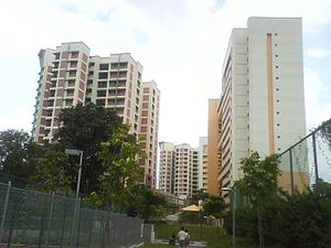 Housing and Development Board - HDB Flats in Jurong West