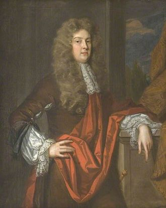 Sir Justinian Isham, 4th Baronet - Sir Justinian Isham II by Godfrey Kneller