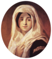 Károly Brocky - Portrait of a Woman with Veil - WGA3213-transparent.png