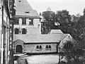 Köln - Hansaring Anbau Schnütgen-Museum, im Hintergrund Gereonsmühle, um 1910, RBA.jpg