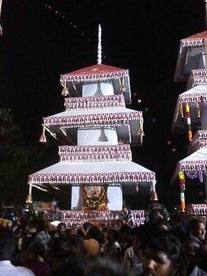 Chettikulangara Kumbha Bharani - Image: KANNAMANGALAM South