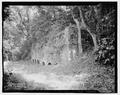 KILNS, SOUTHEAST ELEVATION - Shepherdstown Cement Mill, River Road, Shepherdstown, Jefferson County, WV HAER WVA,19-SHEP.V,4-2.tif