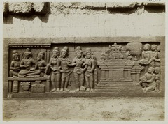 KITLV 27986 - Kassian Céphas - Relief of the hidden base of Borobudur - 1890-1891.tif