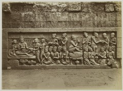 KITLV 28045 - Kassian Céphas - Relief of the hidden base of Borobudur - 1890-1891.tif