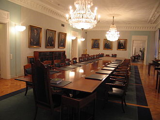 Supreme Court of Finland - The plenary session chamber of the Court