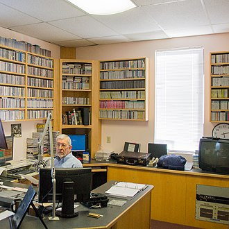 KWAX - Inside the KWAX studio